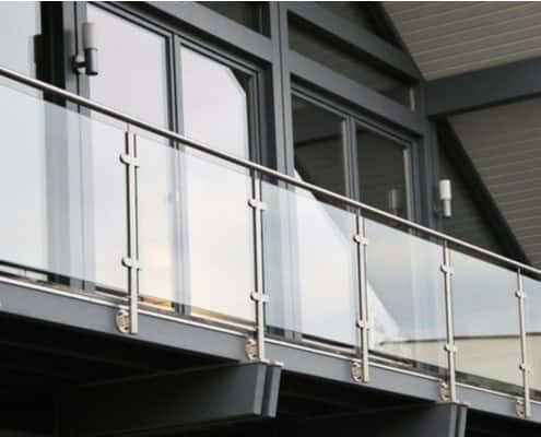 Installation balustrade